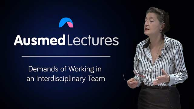 Cover image for lecture: Demands of Working in an Interdisciplinary Team