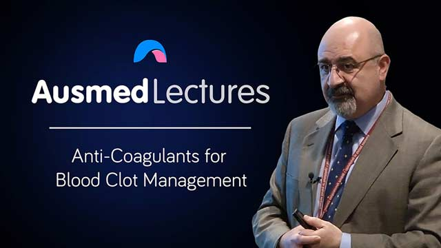 Cover image for lecture: Anti-Coagulants for Blood Clot Management