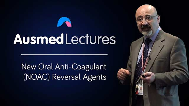 Cover image for lecture: New Oral Anti-Coagulant (NOAC) Reversal Agents