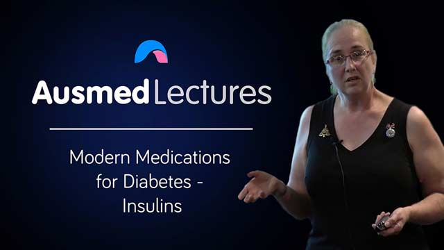 Cover image for lecture: Modern Medications for Diabetes - Insulins