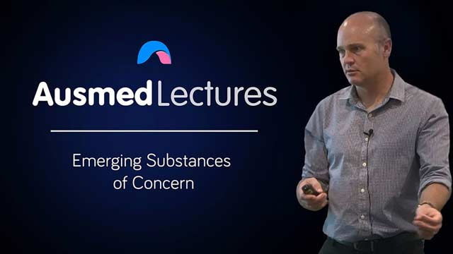 Cover image for lecture: Emerging Substances of Concern