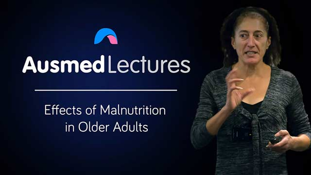 Cover image for lecture: Effects of Malnutrition in Older Adults