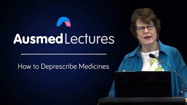 Cover image for lecture: How to Deprescribe Medicines