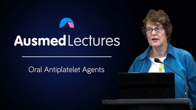 Cover image for lecture: Oral Antiplatelet Agents