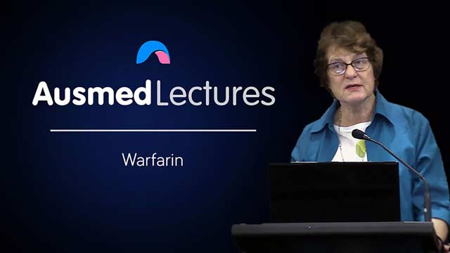 Cover image for lecture: Warfarin