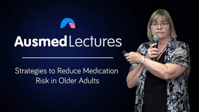 Cover image for lecture: Reducing Medication Risk in Older Adults