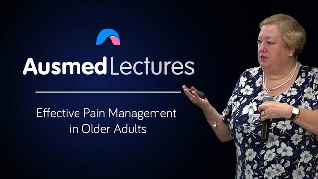 Cover image for lecture: Effective Pain Management in Older Adults