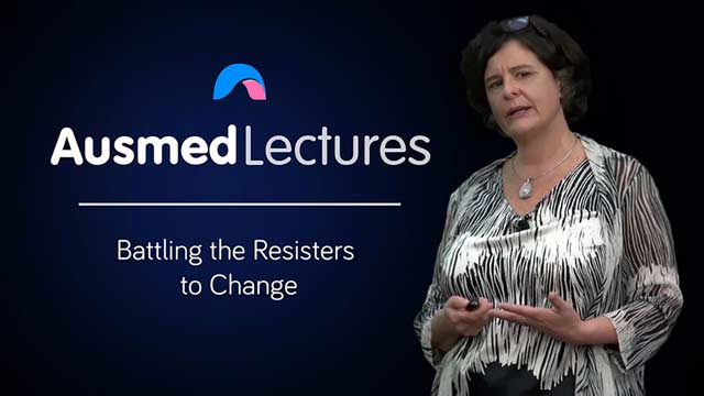 Cover image for lecture: Battling the Resisters to Change