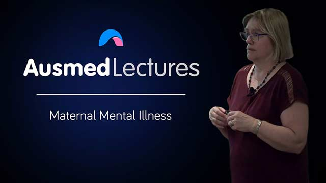 Cover image for lecture: Maternal Mental Illness