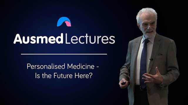 Cover image for lecture: Personalised Medicine: Is the Future Here?