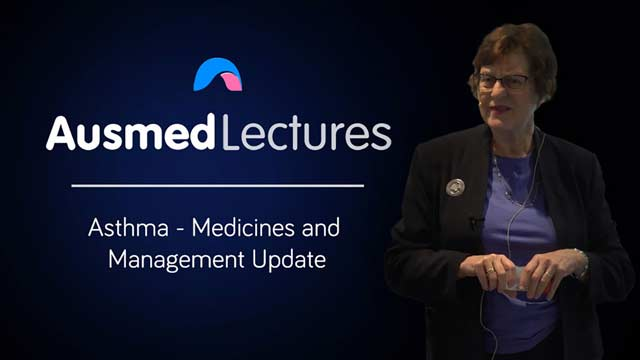 Cover image for lecture: Asthma - Medicines and Management Update