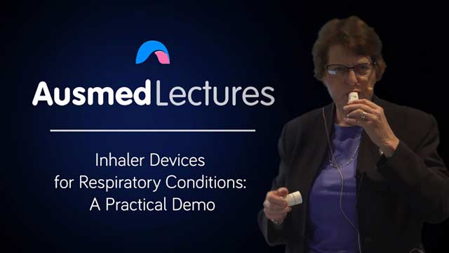 Cover image for lecture: Inhaler Devices for Respiratory Conditions: A Practical Demo