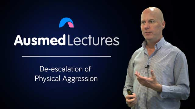 Cover image for lecture: De-escalation of Physical Aggression