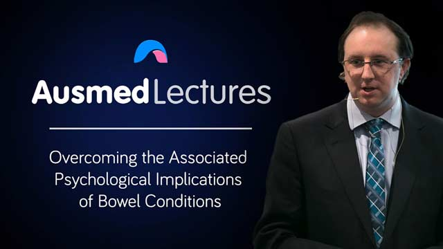 Cover image for lecture: Overcoming the Associated Psychological Implications of Bowel Conditions