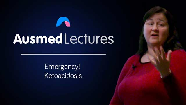 Cover image for lecture: Emergency! Ketoacidosis