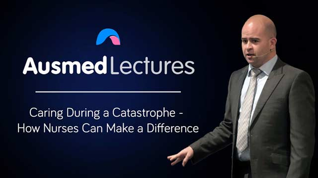 Cover image for lecture: Caring During a Catastrophe - How Nurses Can Make a Difference