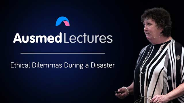 Cover image for lecture: Ethical Dilemmas During a Disaster