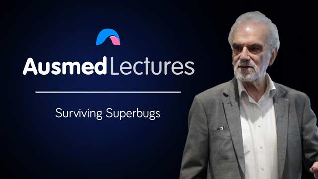Cover image for lecture: Surviving Superbugs
