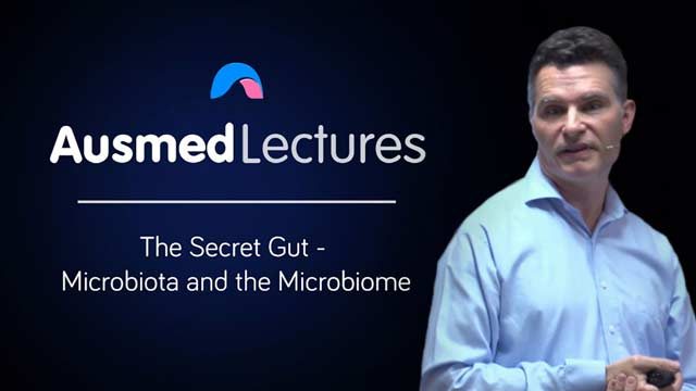 Cover image for lecture: The Secret Gut - Microbiota and the Microbiome
