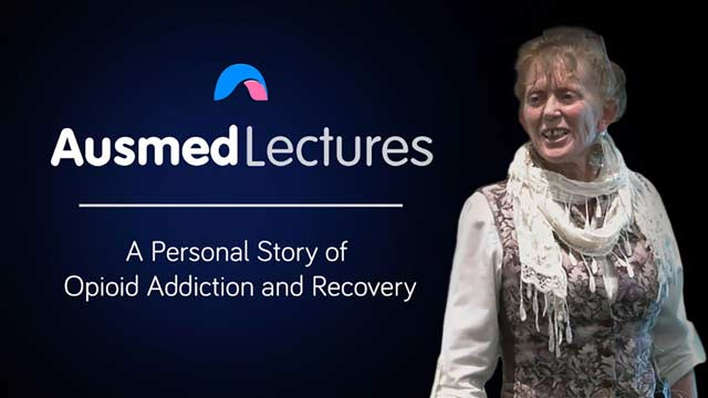 Cover image for lecture: A Personal Story of Opioid Addiction and Recovery