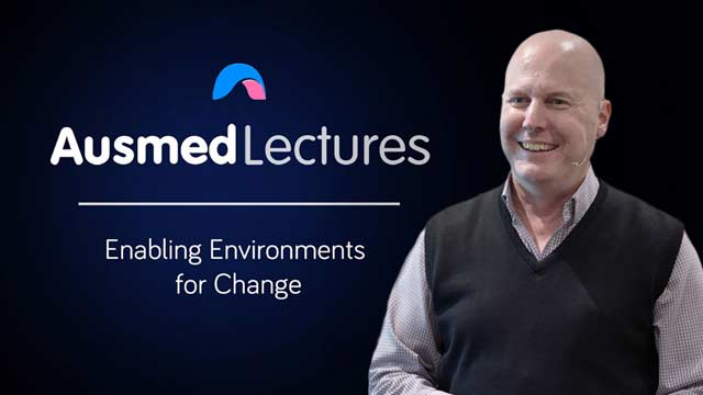 Cover image for lecture: Enabling Environments for Change
