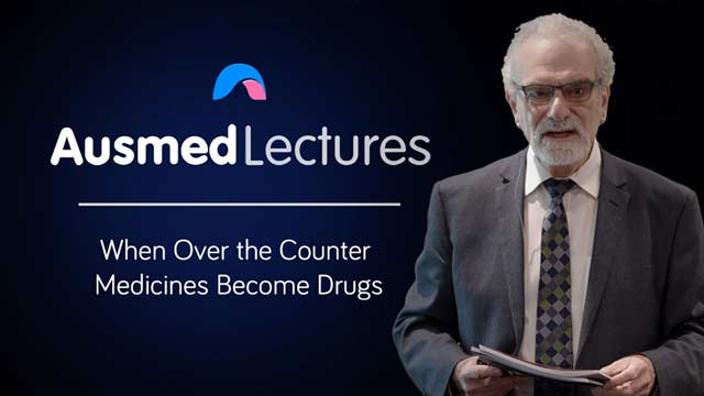 Cover image for lecture: When Over the Counter Medicines Become Drugs