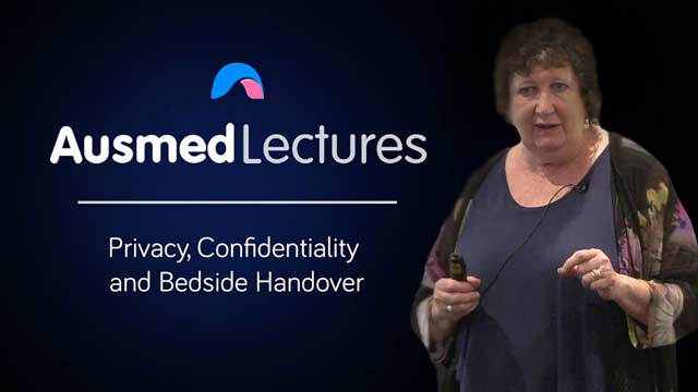 Image for Privacy, Confidentiality, and Bedside Handover