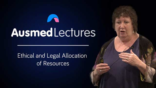Cover image for lecture: Ethical and Legal Allocation of Resources