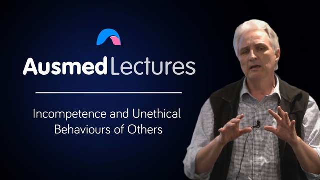 Cover image for lecture: Incompetence and Unethical Behaviours of Others