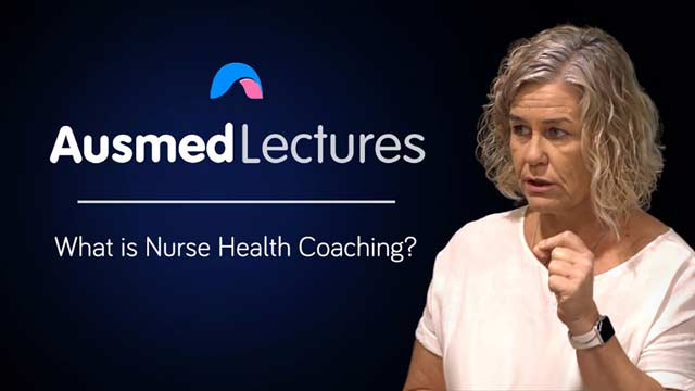 Cover image for lecture: What is Nurse Health Coaching?