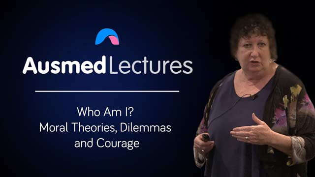Cover image for lecture: Who Am I? Moral Theories, Dilemmas and Courage