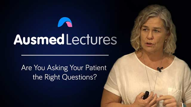 Cover image for lecture: Are You Asking Your Patient the Right Questions?