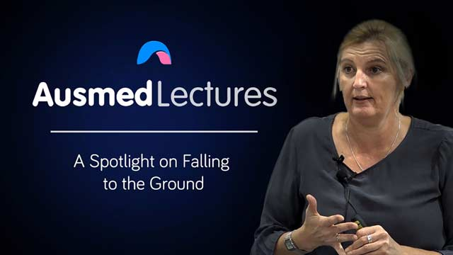 Cover image for lecture: A Spotlight on Falling to the Ground