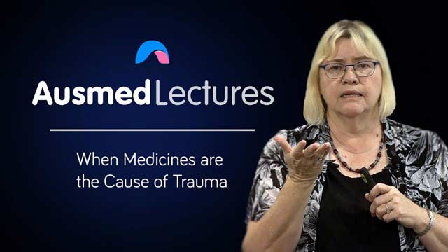 Cover image for lecture: When Medicines are the Cause of Trauma