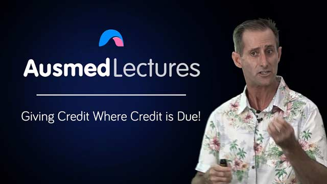 Cover image for lecture: Giving Credit Where Credit is Due!