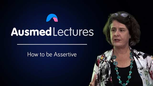 Cover image for lecture: How to Be Assertive