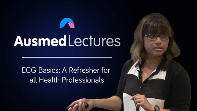 Cover image for lecture: ECG Basics: A Refresher for all Health Professionals