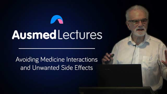 Cover image for lecture: Avoiding Medicine Interactions and Unwanted Effects