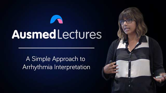 Cover image for lecture: A Simple Approach to Arrhythmia Interpretation