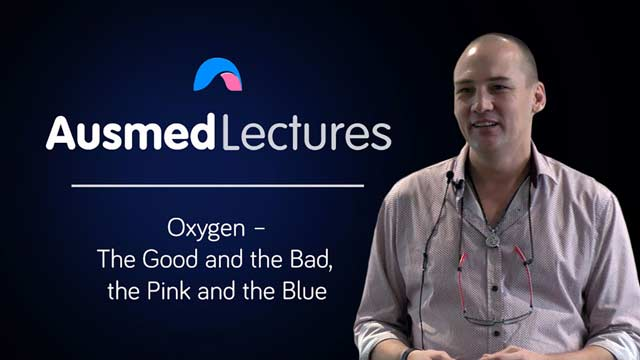 Cover image for lecture: Oxygen - the Good and the Bad, the Pink and the Blue