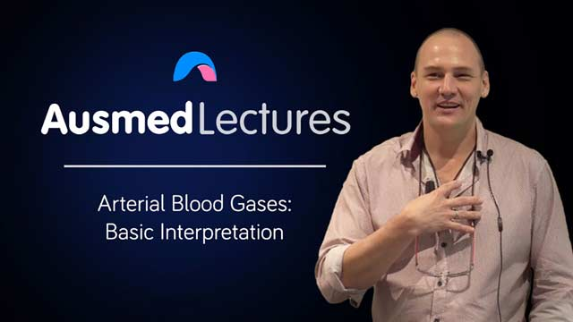 Cover image for lecture: Arterial Blood Gases - Basic Interpretation