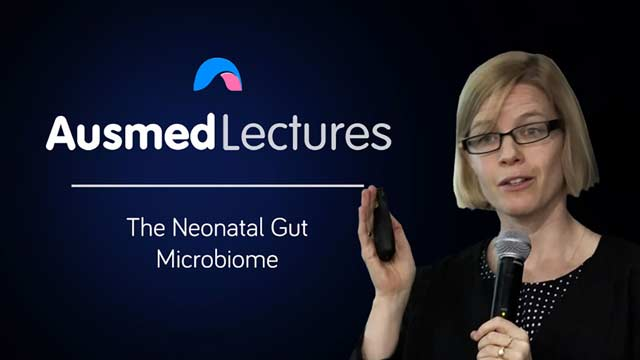 Cover image for lecture: The Neonatal Gut Microbiome