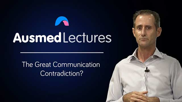 Cover image for lecture: The Great Communication Contradiction?