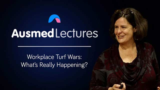 Cover image for lecture: Workplace Turf Wars: What's Really Happening?