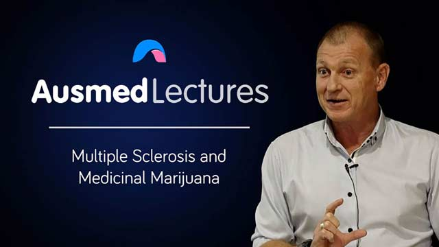 Cover image for lecture: Multiple Sclerosis and Medicinal Marijuana