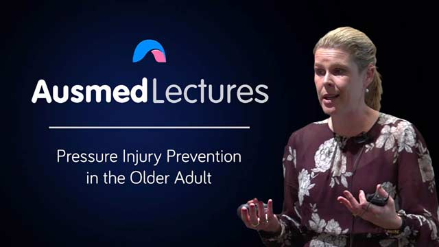 Cover image for lecture: Pressure Injury Prevention in Older Adults