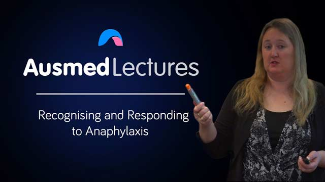 Cover image for lecture: Recognising and Responding to Anaphylaxis