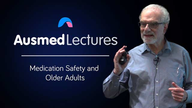 Cover image for lecture: Medication Safety and Older Adults