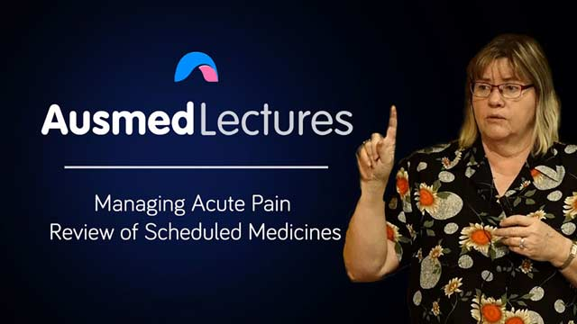 Cover image for lecture: Review of Scheduled Pain Medicines