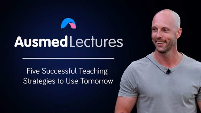 Cover image for lecture: Five Successful Teaching Strategies to Use Tomorrow
